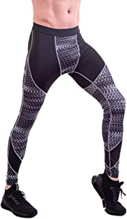Workout Pants for Men,Running Pants Elasticity Cool Dry Breathable Sports Tights Leggings Running Tights Training Pants,Gray,XXXL