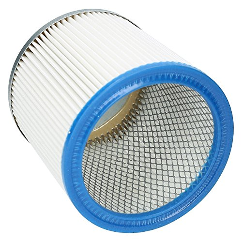 ✧WESSPER® Patronen Filter für Aquavac Herkules 1001 (Fur trockenen und nassen Einsatz)
