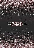 Terminplaner 2020: Ein Kalender und Wochenplaner für das Jahr 2020. Pro Woche zwei Seiten. Taschenkalender im Format DIN A5. Edition: Glitter.