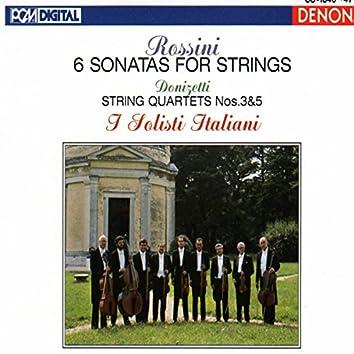 Rossini & Donizetti: Sonatas and String Quartets