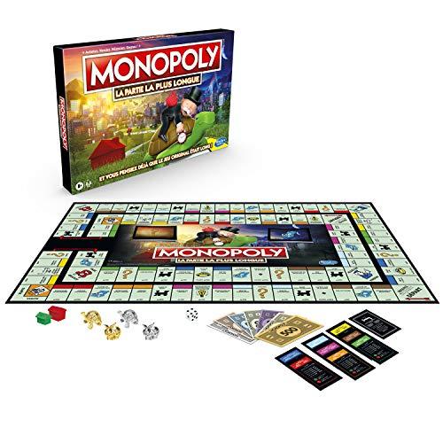 Monopoly Longest Game Ever - Jeu de Societe - Jeu de Plateau - Version Française