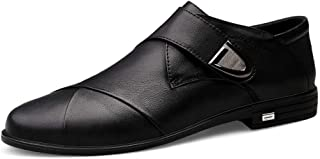 Yi-xir diseño Clasico Moda Hombre Oxford Casual Cómodo Simple Simple Hook y Zapatos Loopsaty Comodo (Color : Black, Size :...