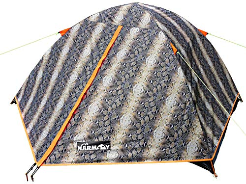 NARMAY Snakeskin Camping Backpacking Two Person Dome Tent  72×5×36 ft