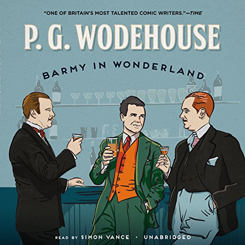 Barmy in Wonderland audiobook cover art