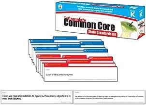 Carson Dellosa The Complete Common Core State Standards Kit Pocket Chart Cards (158168) Grade K