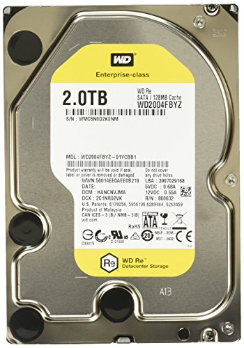 Western Digital WD2004FBYZ interne Festplatte (8,9 cm (3,5 Zoll), 7200rpm, 64MB, SATA)