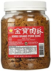 cooked dried pork ( 猪肉松) kimbo brand pork sung 18 oz (1 lb 2 oz ) made in usa Softens & Soothes Sunburned & Chapped Skin