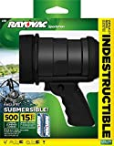Rayovac Sportsman Virtually Indestructible 500 Lumen 6AA LED Spotlight with Batteries (OT6AASP-B)