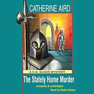 The Stately Home Murder audiobook cover art
