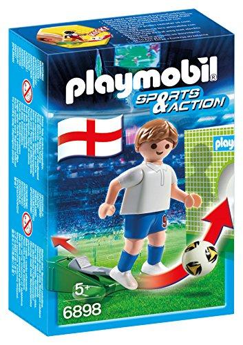 PLAYMOBIL - Futbolista Inglaterra, Juguete Educativo, 6898