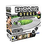 Bionic Steel 50 Foot Garden Hose 304 Stainless Steel Metal Water Hose – Super...