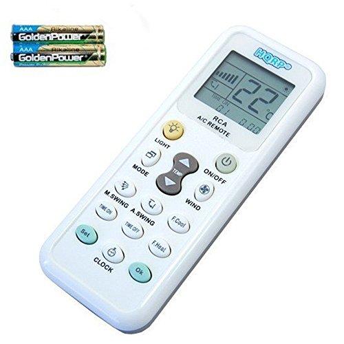 HQRP Universale Klimaanlage Fernbedienung für Samsung Sanyo Amcor Toshiba Carrier und andere Klimaanlagen