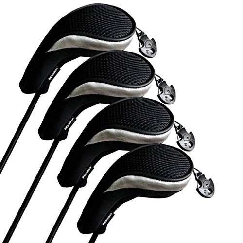 Andux funda palo golf híbridos set 4 intercambiable