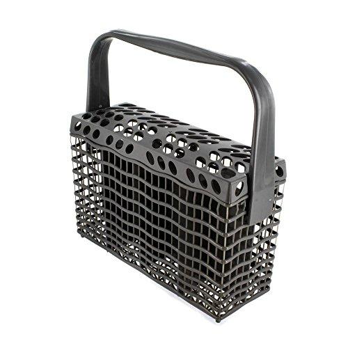 Electrolux 1524746805Genuine Original Universal GRIS OSCURO Slimline–Cesta de cubiertos para lavavajillas (