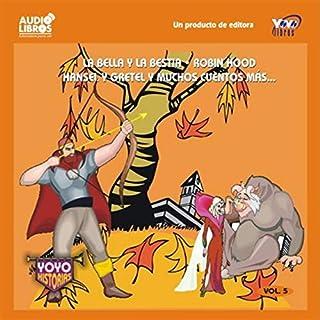 La Bella y la Bestia, Robin Hood, Hansel y Gretel, & Muchos Cuentos Mas audiobook cover art