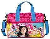 Scooli SORN7252 Sporttasche Disney Soy Luna, ca. 35 x 16 x 24 cm