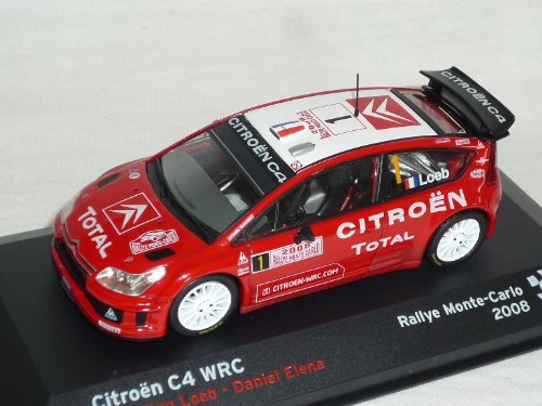 Altaya by Ixo Citroen C4 C 4 WRC Rally 2008 Monte Carlo...