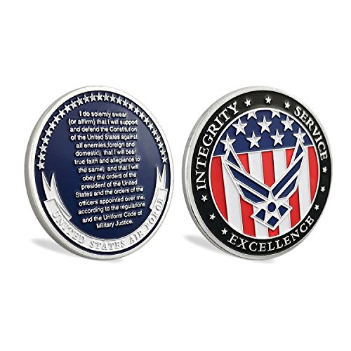 US Air Force Oath of Enlistment Challenge Coin for Airmans Gifts