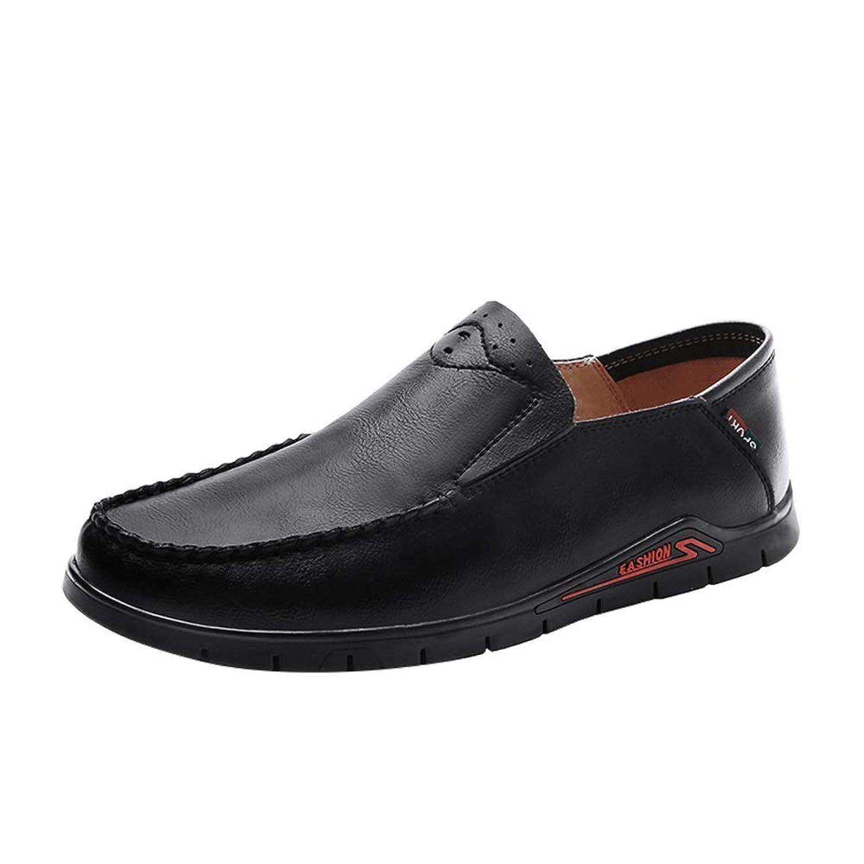 [BTXXY] ビジネスシューズ メンズ 快適 耐摩耗 軽量 シンプル レザー 紳士靴 ファッション
