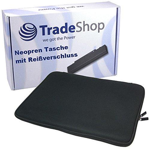 Trade-Shop Neopren Slim Notebook Laptop Schutzhülle Tasche Hülle Sleeve mit langem Reißverschluss für Fujitsu Siemens LIFEBOOK T Serie