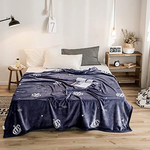 PengMu deken van zachte microvezel, warm, dik coral-fleece, kan niet toelaten om de grijze bol verlicht je bank, bank of bed te verlichten.