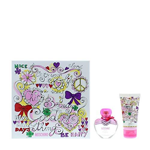 Moschino Pink Bouquet Eau de Toilette 30 ml & Body Lotion 50 ml Set regalo per lei
