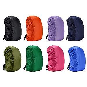 Cubierta impermeable para mochila, para caminar al aire libre, camping, de Rungao, rosa, 35L