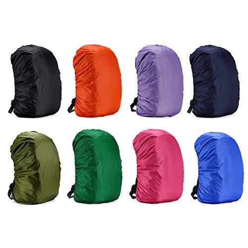 Cubierta impermeable para mochila, para caminar al aire libre, camping, de Rungao, azul oscuro, 35L
