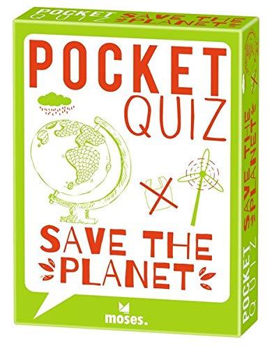 moses. Pocket Quiz Save the planet l 150 Rätsel - Fragen über den Schutz unserer Erde l Für Kinder ab 12 Jahren und Erwachsene (Pocket Quiz: Ab 12 Jahre /Erwachsene)