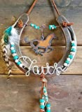 Horseshoe Decor, Gifts for Horse Lovers, Cowgirl Decor, Custom Horseshoe, Horseshoe Decor