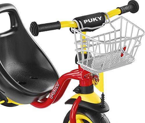 PUKY 9119 LKDR Lenkerkorb nur für PUKY Dreirad und Roller, Silber (nicht für R07L, R2002L)