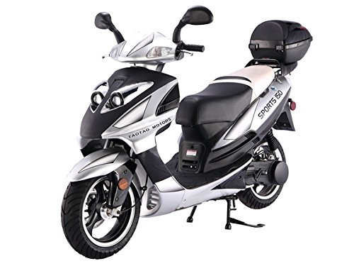 SMART DEALSNOW Brings Brand New 150cc Gas Fully Automatic Street Legal Scooter TaoTao 150cc with Mat - http://coolthings.us