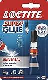 Super Glue Loctite Universal/Extra Strong Liquid Glue for Metal, Ceramics, Plastic, Rubber, Leather