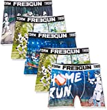 FREEGUN Boxer Cierre, Multicolore (Multicolore E4), S (Pack de 5) para Hombre