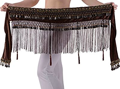 Belly Dance Hip Scarf for Women