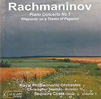 ラフマニノフ:ピアノ協奏曲 第1番/パガニーニの主題による狂詩曲