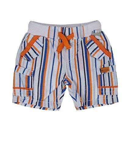 Kanz Baby-Jungen Bermuda Short, Mehrfarbig (y/d Stripe Vertical|Multicolored 0005), (Herstellergröße: 56)
