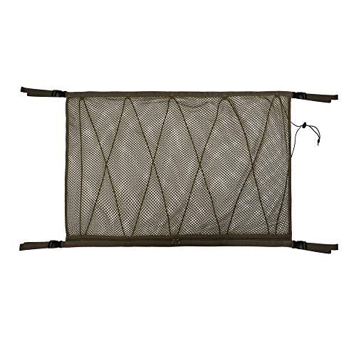 MiOYOOW Auto Gepäcknetz Mesh Aufbewahrungstasche, Autodach Verbesserte Autodach-Aufbewahrungstasche mit Kordelzug Multifunktionale Aufbewahrung von Kleidung und Snacks