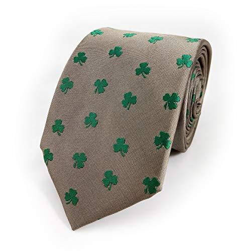 Shamrock Necktie - Shamrock Tie - Shamrock Neck Tie - Irish Tie - Irish Necktie - Ireland Necktie - Ireland Tie - St. Patrick's Day Necktie - St. Patrick's Day Tie for Men - Shamrock Gift