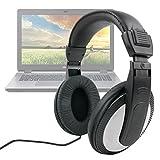 Duragadget Casque Audio pour PC Acer Aspire E5-573-56XH, E5-774G-58DB / E5-772G-342S / ES1-731-P4YR - Gestion du Volume intégrée