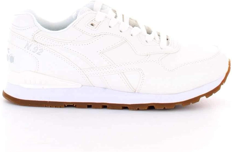 Diadora Men's 1011737440120006 White Leather Sneakers