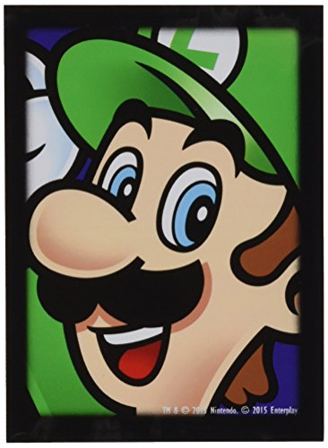Ultra Pro- Card Sleeves: Super Mario Brothers: Luigi (E-84667)