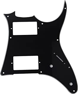 3 Ply Guitar Pickguard Scratch Plate For Ibanez GRX20Z Replacement -BLACK