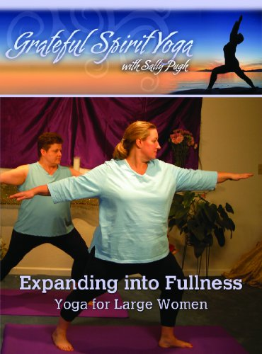 Expanding into Fullness Yoga for Large Women with Sally Pugh DVD815597011021