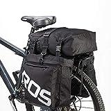 ROSWHEEL 自転車サイドバッグ ユニセックス ブラック 14892