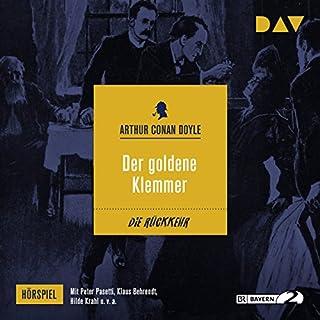 Der goldene Klemmer (Die Rückkehr des Sherlock Holmes - Hörspiel 10) Titelbild
