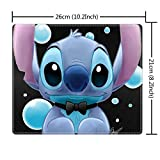 DISNEY COLLECTION Mouse Pad Rectangle Stitched Edges Lilo Stitch 5 Popular