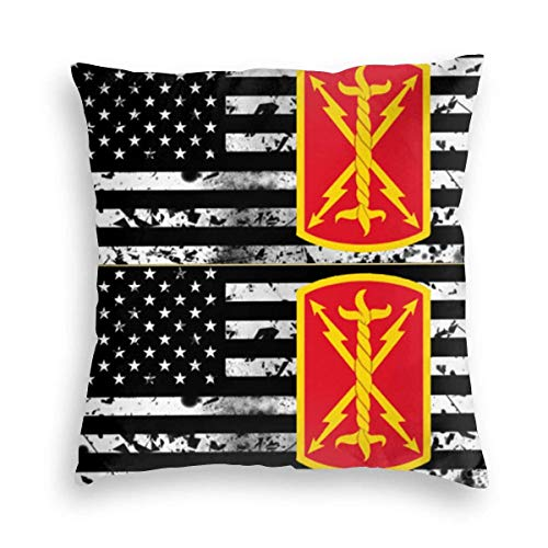 v-kook-v 17th Field Artillery Brigade Velvet Pillowcase