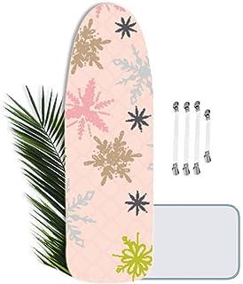 Housse de Table à Repasser 150 x 50 cm, Professionnelle avec Fonction Slim-Fit - La Housse de Fer à Repasser Vapeur et Rem...