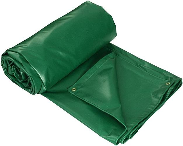 Z-P Bache De Prougeection Solaire Imperméable Tente Verte en Plastique épaisse Poncho Bache Voiture Pluie Couverture Variété De Tailles